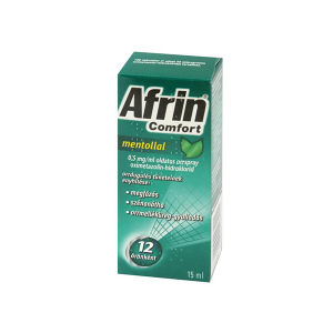 Afrin Comfort mentollal 0,5mg/ml oldatos orrspray 15ml