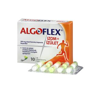 Algoflex Izom+Ízület 300mg Retard Kemény Kapszula 10x