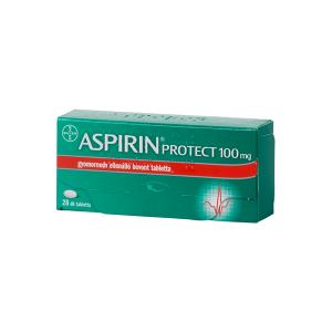 Aspirin Protect 100mg gyomornedv-ellenálló bevont tabletta 28x
