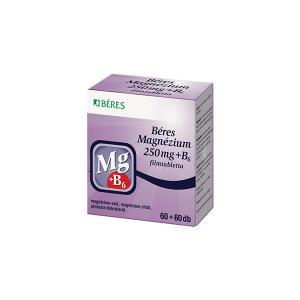 Béres Magnezium 250mg+B6 filmtabletta 120x
