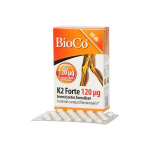 BioCo K2-vitamin Forte 120 mikrogramm 60 db