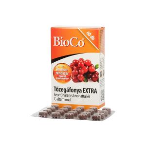 BioCo Tőzegáfonya Extra tabletta 60x