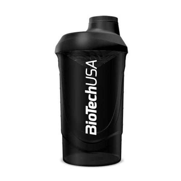 BioTech USA Wave Shaker 600 ml Fekete-füst