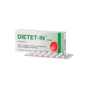 Dietet-In tabletta 40x Selenium Pharma