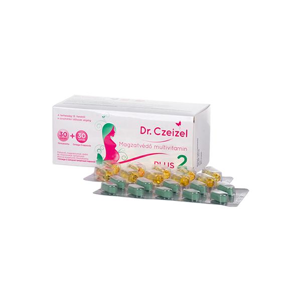 Dr Czeizel Plus 2 multivitamin filmtabletta + kapszula 30+30x