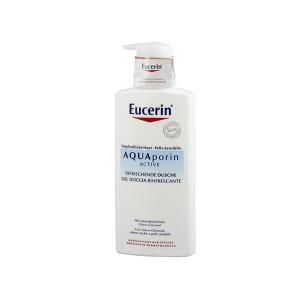 Eucerin AQUAporin Active frissítő pumpás tusfürdő 400ml