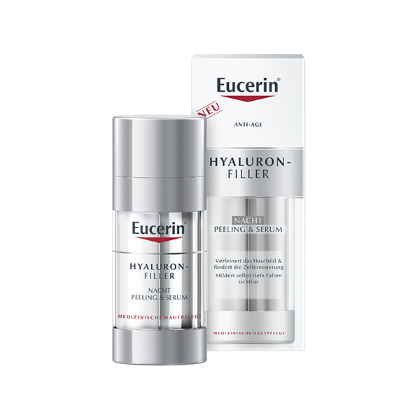 Eucerin Hyaluron-Filler éjszakai peeling és szérum 2×15 ml
