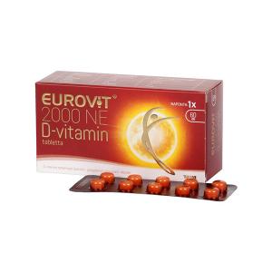 Eurovit D-Vitamin 2000Ne Tápszer Tabletta 60x