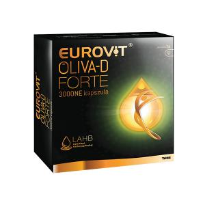 Eurovit Oliva-D Forte 3000NE Kapszula 30x