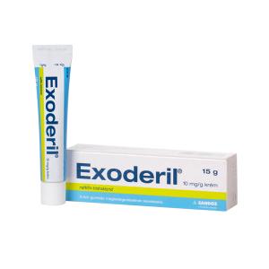 Exoderil 10mg/G Krém 1X15g