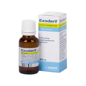 Exoderil 10mg/ml Külsőleges Oldat 1x20ml