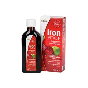 Hübner Iron Vital F vas szirup 250ml