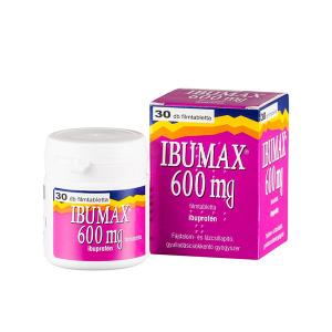 Ibumax 600mg filmtabletta 30x