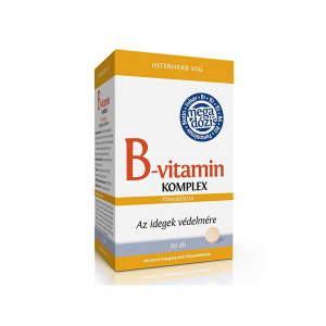 Interherb B-vitamin komplex tabletta 60x