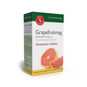Interherb Grapefruitmag extraktum kapszula 30x