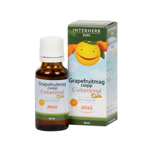 Interherb Kids Grapefruitmag C-Vitamin Csepp 20ml