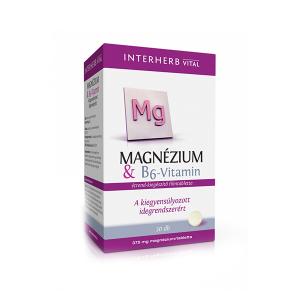 Interherb Magnézium+B6 vitamin kapszula 30x