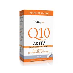 Interherb Q10 aktív kapszula 30x