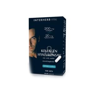 Interherb Vital Kollagén & Hyaluronsav Férfiaknak 30x