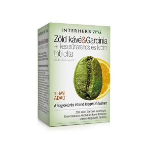 Interherb Zöld kávé & Garcinia tabletta 60x