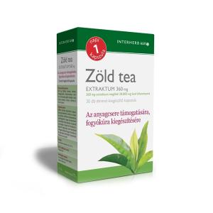 Interherb Zöld tea kapszula 30x