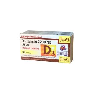Jutavit D-vitamin 2200NE tabletta 40x