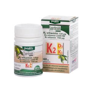 Jutavit K2+D3+K1-vitamin lágyzselatin kapszula 60x
