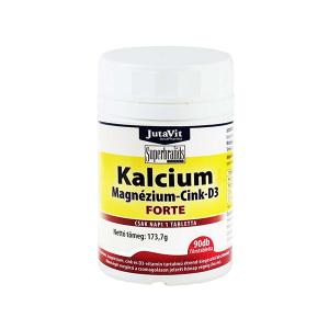 Jutavit Kalcium-Magnézium-Cink-D3-vitamin Forte tabletta 90x