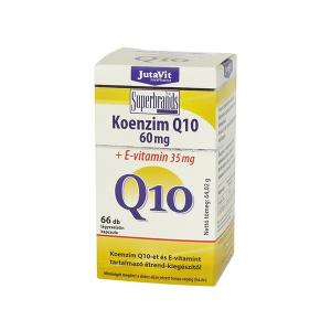 Jutavit Koenzim Q10 60mg + E-vitamin kapszula 66x