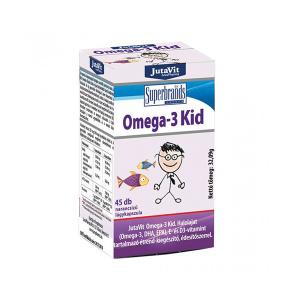 Jutavit Omega-3 Kid lágykapszula 45x