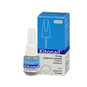 Kitonail 80mg/g Gyógyszeres Körömlakk 1x3,3ml