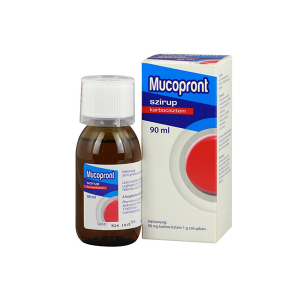 Mucopront 50mg/g szirup 90ml
