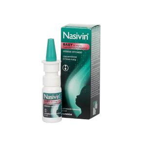 Nasivin Baby 0,1Mg/ml Orrcsepp Tartósítószer Mentes 5ml