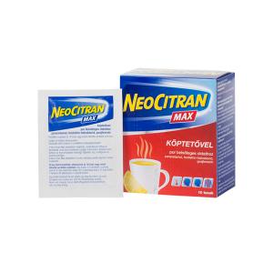 Neo Citran Max Köptető Por Belsőleges Oldathoz 10x