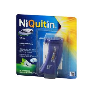 Niquitin Minitab 1,5mg Préselt Szopogató Tabletta 20X