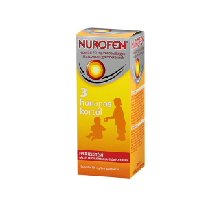 Nurofen Eperízű 20mg/ml Belsőleges Szuszpenzió Gyermekeknek 200ml