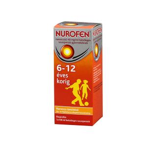 Nurofen Narancsízű 40mg/ml Belsőleges Szuszpenzió Gyermekeknek 100ml