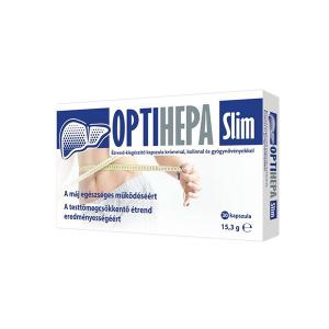 Optihepa Slim kapszula krómmal, kolinnal és gyógynövényekkel 30x