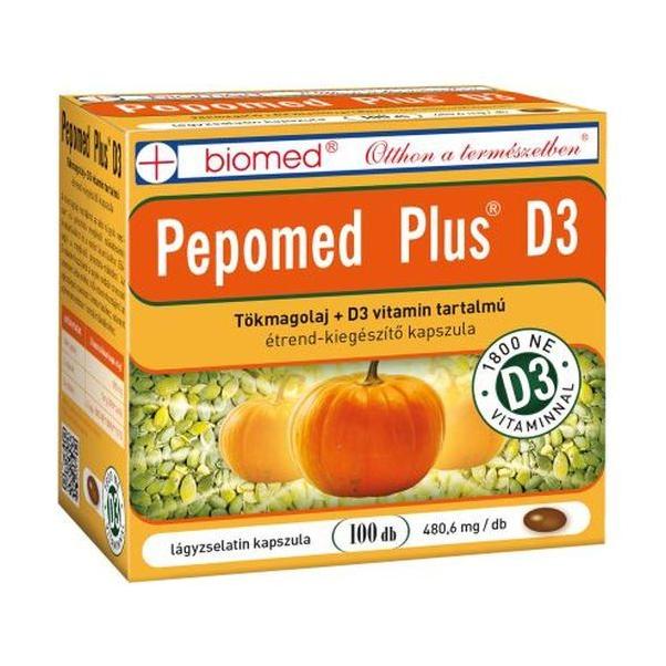 Screenshot_2020-12-22 1910 Ft – Biomed Pepomed Plus D3 tökmagolaj kapszula 100db – Egészségpláza Budapest