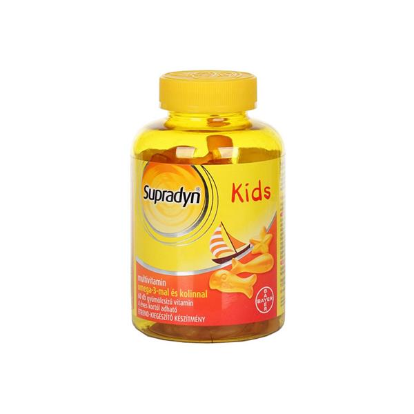 Supradyn Kids omega-3 gumicukor 60x