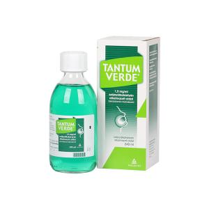 Tantum Verde 1,5mg/ml szájnyálkahártyán alkalmazott oldat 240ml üveg
