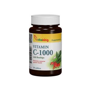 Vitaking C-vitamin 1000mg tabletta 30x
