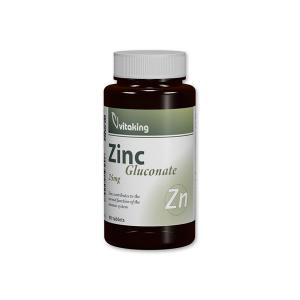 Vitaking Cink Glükonát 25mg tabletta 90x