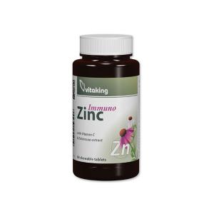 Vitaking Cink Immuno rágótabletta 60x