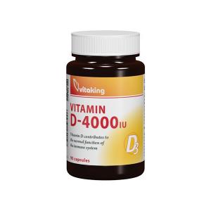 Vitaking D3-vitamin D-4000NE kapszula 90x