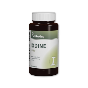 Vitaking Jód (Iodine) tabletta 240x