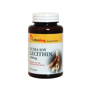 Vitaking Lecitin lágyzselatin kapszula 100x