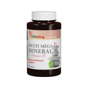 Vitaking Multi Mega Mineral tabletta 90x
