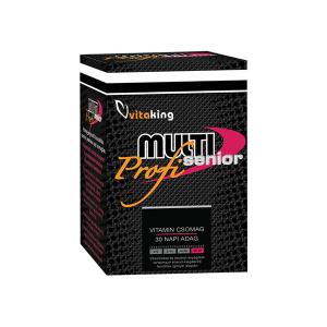 Vitaking Multi Senior Profi multivitamin csomag 30x