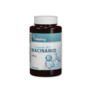 Vitaking Niacinamid 500mg tabletta 100x